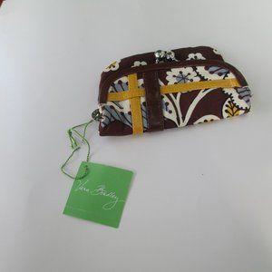 Vera Bradley coin purse kisslock zipper